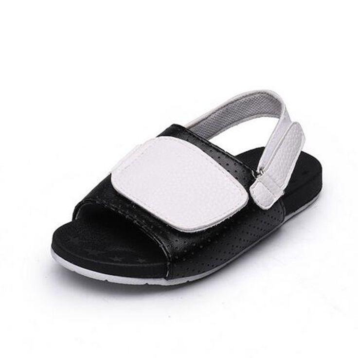 Chaussons pour hommes Pantoufles de plage en cuir véritable Sandales décontractées Hemp Rope Non-slip Slip Chaussures plates , Sandales à bascule pour hommes ( Color : Brown , Size : 43 EU )