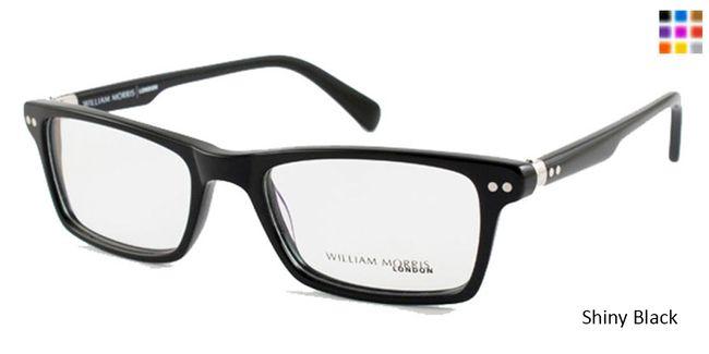 354280456c1 Shiny Black William Morris London WM9076 Eyeglasses