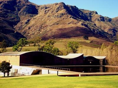 Dornier Wine Farm, Stellenbosch, South Africa. Pic by Robin Brown