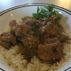 Pork Stew in Green Salsa (Guisado de Puerco con Tomatillos) Allrecipes.com