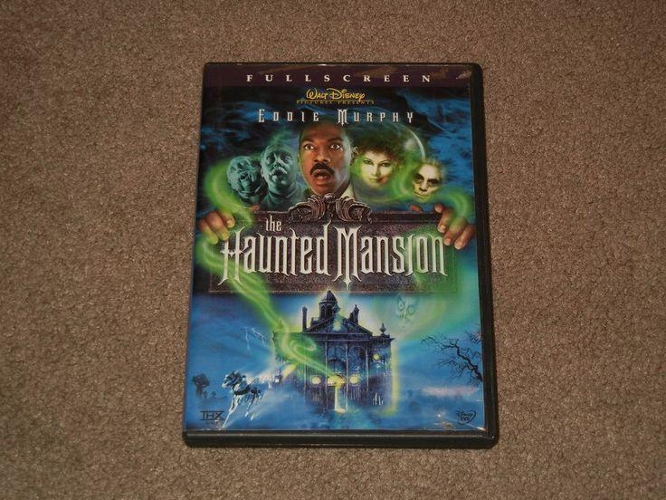 The Haunted Mansion (DVD, Movie, Comedy, Walt Disney, 2004, Full Screen)