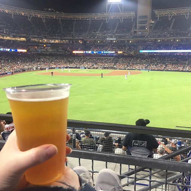 Starting the week off right w/ @coronadobrewing and Padres⚾️🍺 #AleTalesSD #AleTales #KnowYourBeer #OrangeAveWit #SanDiego #SanDiegoBeer  #DrinkSD #IndieBeer  #DrinkIndieBeer #IndependentBeer #CraftBeer #DrinkCraftBeer #BeerMe #InstaBeer #BeerGram #sandiego #sandiegoconnection #sdlocals #sandiegolocals - posted by Ale Tales ((Opening Soon)) https://www.instagram.com/aletalessd. See more San Diego Beer at http://sdconnection.com