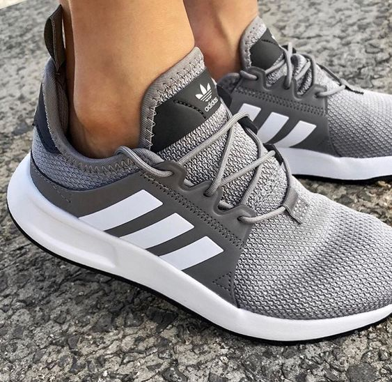 c8bad94b3529 ADIDAS - Trending grey solar boost running shows. Casual Athleisure. Adidas