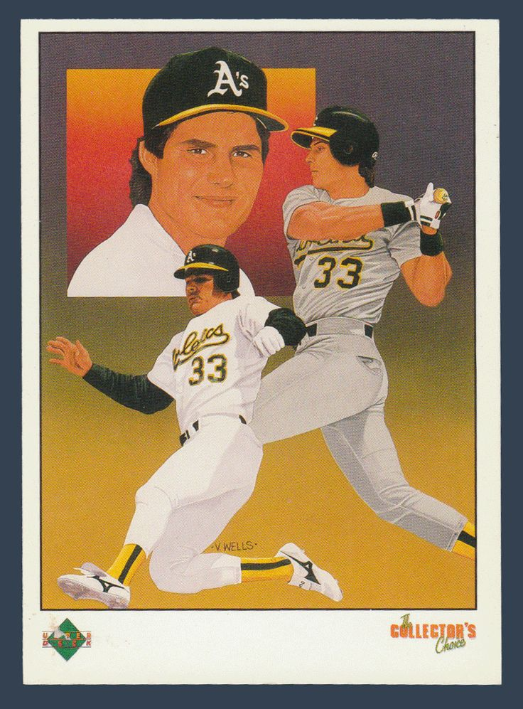 Jose Canseco # 670 - 1989 Upper Deck Baseball