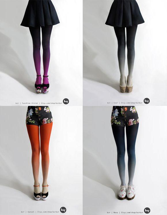 Meias calças degradê :D