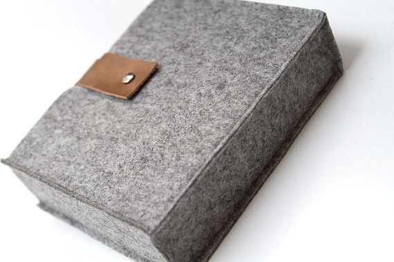Felt sleeve for photo album or other precious book  by StudioBIG, €29,00