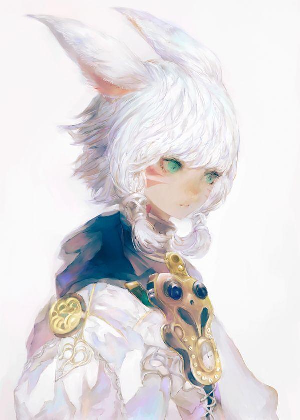 """夜汽車 on Twitter: """"息抜き https://t.co/Q6WuskptgI"""" final fantasy xiv fan art"""
