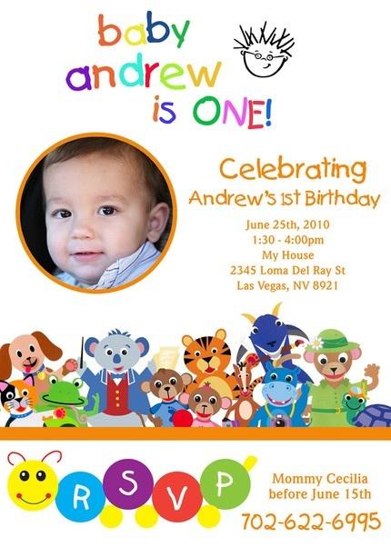 Baby Einstein First Birthday-