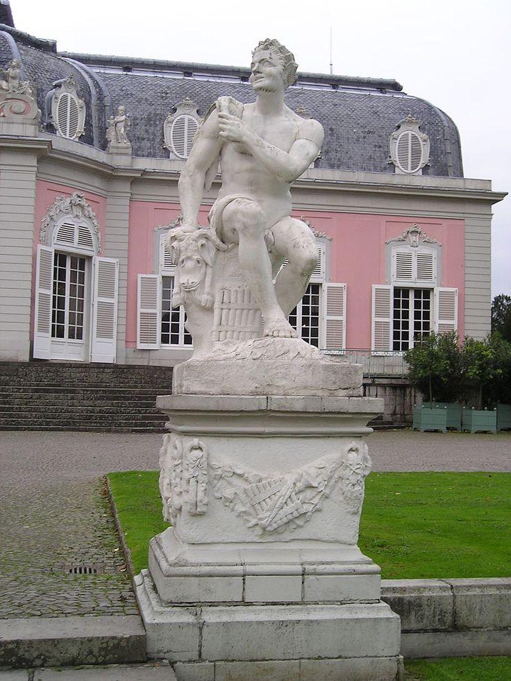 Good Benrath Palace Duesseldorf Germany Palacio de