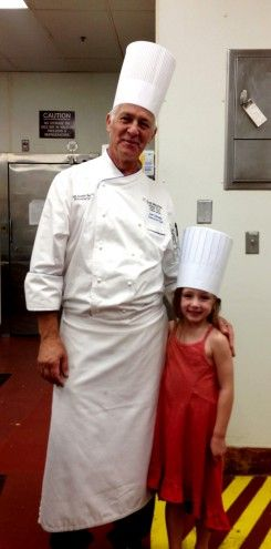 My daughter had a private baking lesson with Executive Chef Joel Delmond at the @The Westin Mission Hills Golf Resort & Spa #travel #familytravel