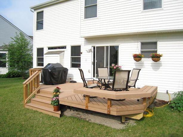 """deck """"plastic wood"""""""