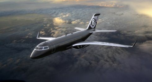 A Bentley Private Jet airplane