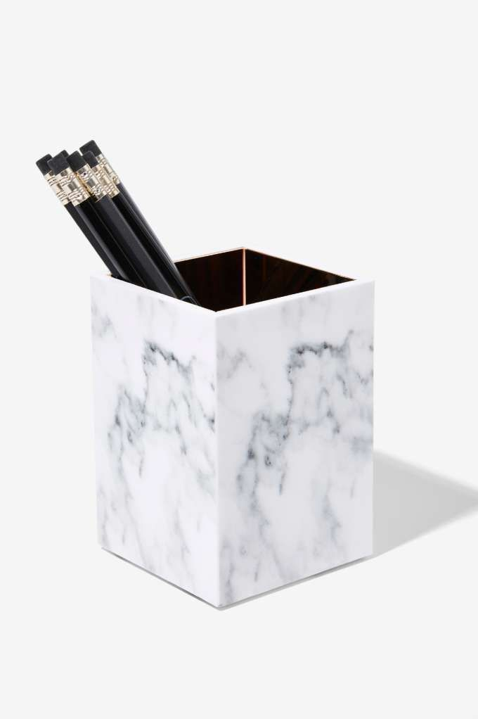 Rachel George Mulholland Marble Pencil Holder  Gifts