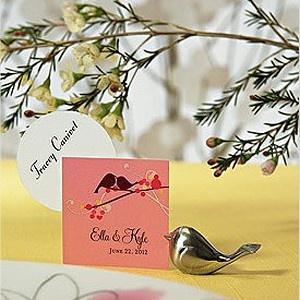 #Lovebird Place Card Holders