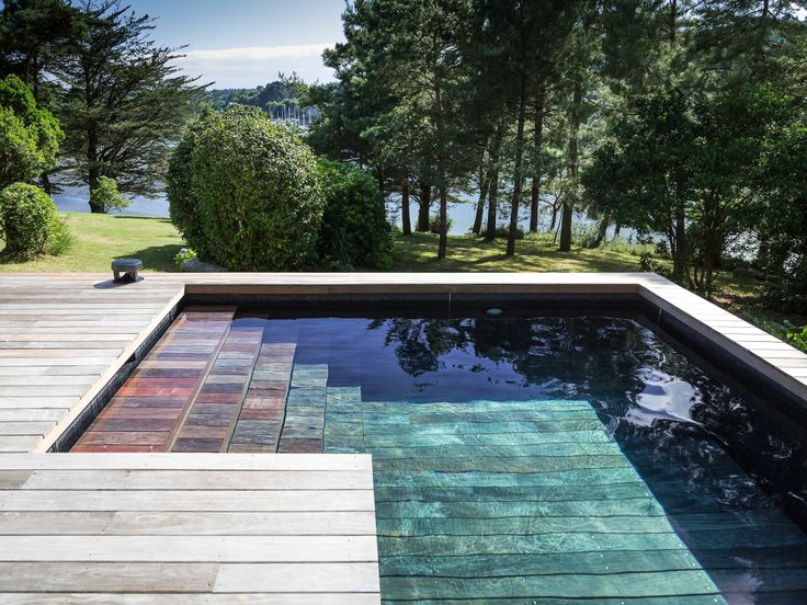 23 best images about escaliers de piscines on pinterest for Piscine fond mobile bordeaux