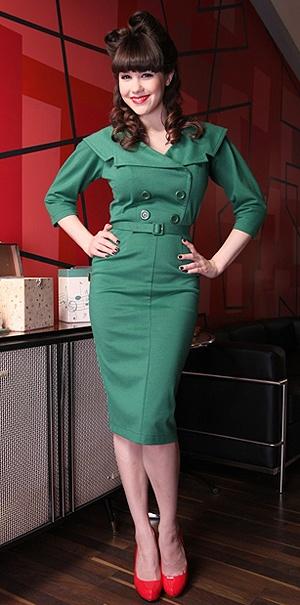 Dolly Dagger Bettie Page dress