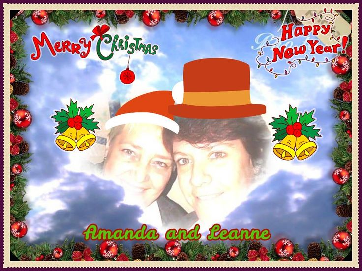 # Our third Xmas together :-) xx Merry Christmas Everyone and may you have a wonderful, awesome, blessed and full of Love and Smiles ~2~0~1~6