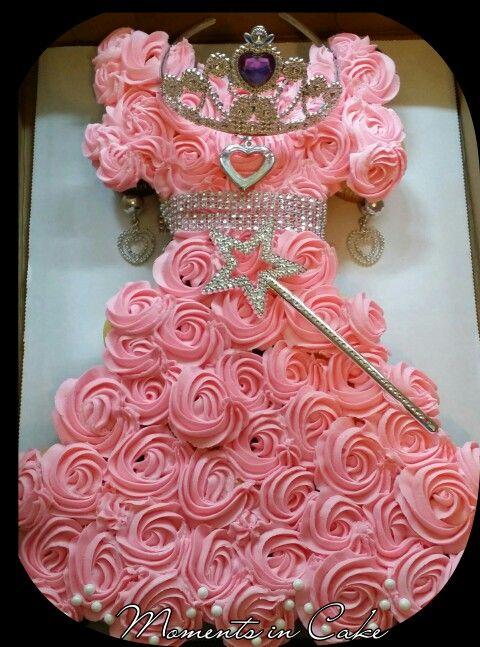 Princess Pull-a-part Cupcake Dress