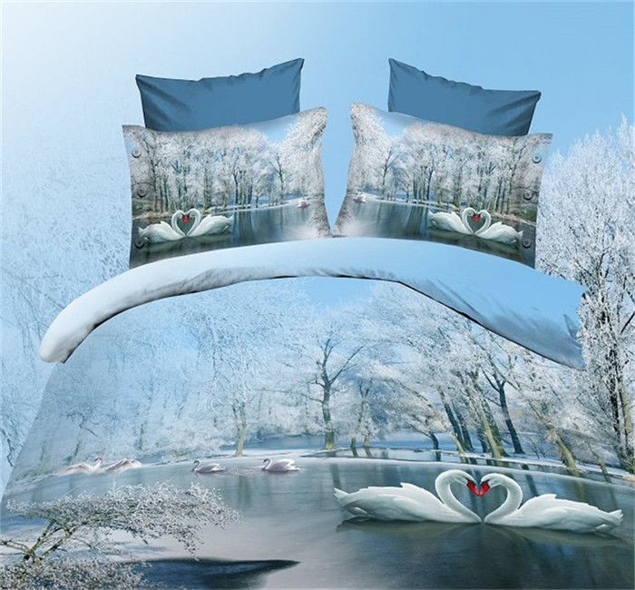 Animal bed linen 3d bedding sets Digital HD bedclothes big tree 3d comforter cover bedsheet 3d queen bedspreads-in Bedding Sets from Home & Garden on Aliexpress.com | Alibaba Group