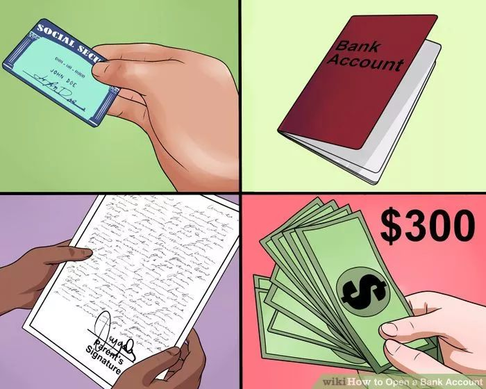 Image titled Open a Bank Account Step 1