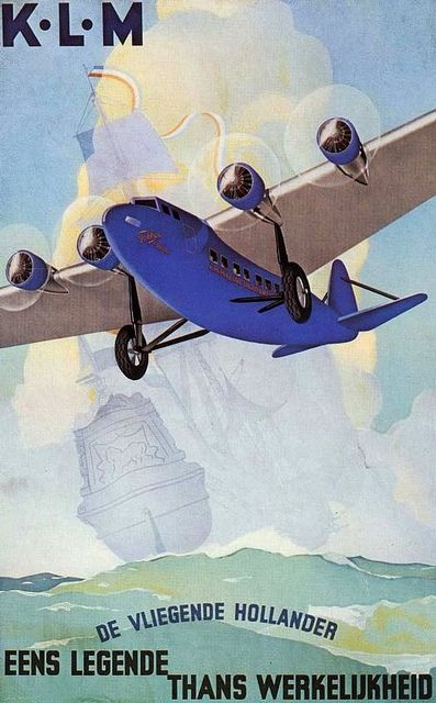 Fokker F.XXXVI KLM poster | Flickr - Photo Sharing!