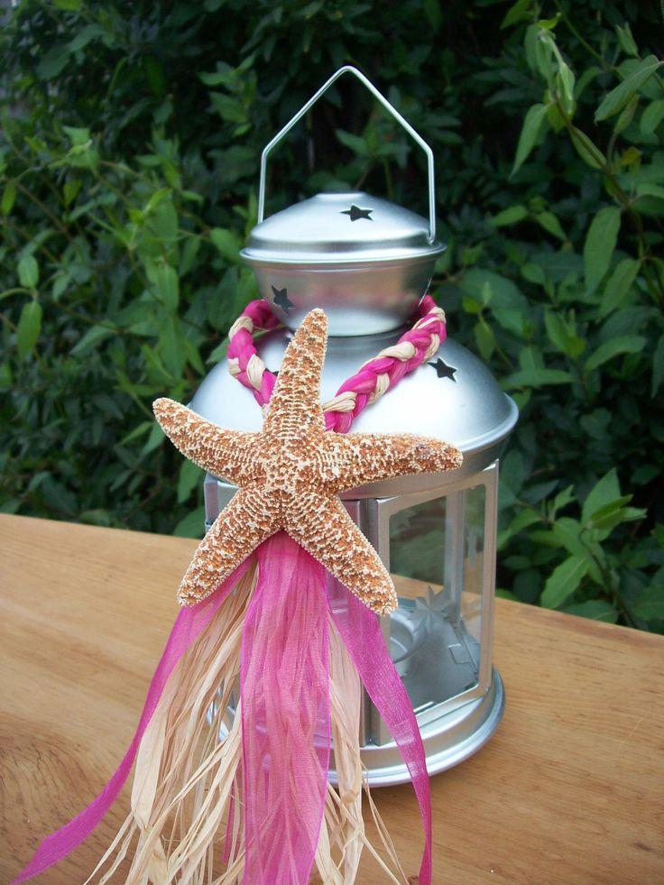 Beach Wedding Decor Small Starfish Lantern Hangers by OneFunDay, $8.00