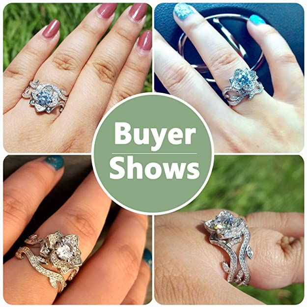 Flower Wedding Rings Flower Wedding Ring Wedding Rings For Women Womens Jewelry Rings