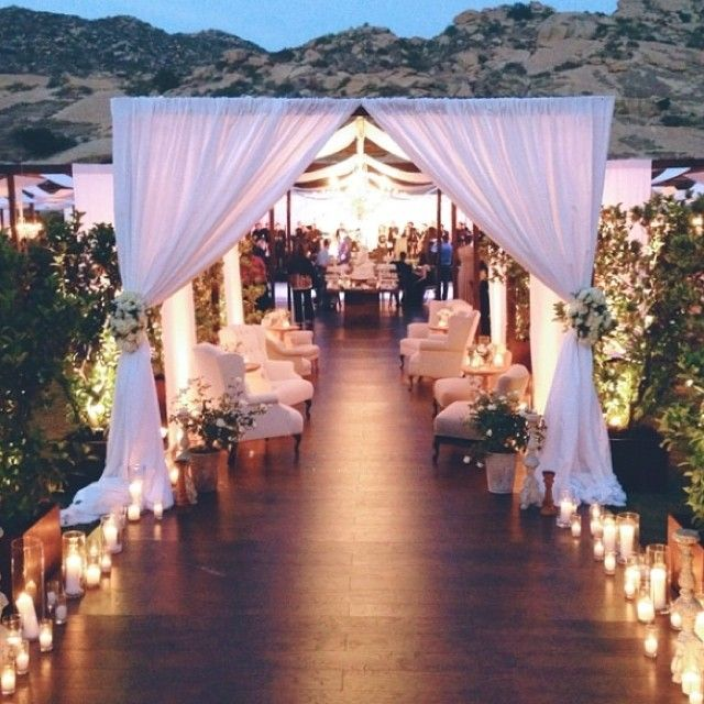 141 Best Entrances To Tent Wedding Images On Pinterest