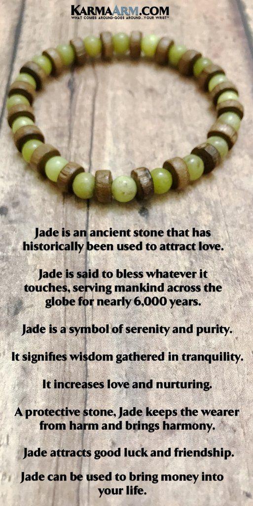 Beaded Bracelets | Reiki Healing | Mens & Womens Yoga Jewelry | #Jade is an ancient stone that has historically been used to attract love. #BoHo #zen #reiki #Bracelets #BEADED #Gemstone #Mens #GiftsForHim #Lucky #womens #Jewelry #gifts #Chakra #FitMom #Gifts #Blog # #wisdom #CrystalEnergy #Spiritual #Gifts #Blog #Mommy #Meditation #prayer #mindfulness #Healing Kundalini #LawofAttraction #LOA #Love #Mantra #Mala #friendship #MothersDay #BachelorNation