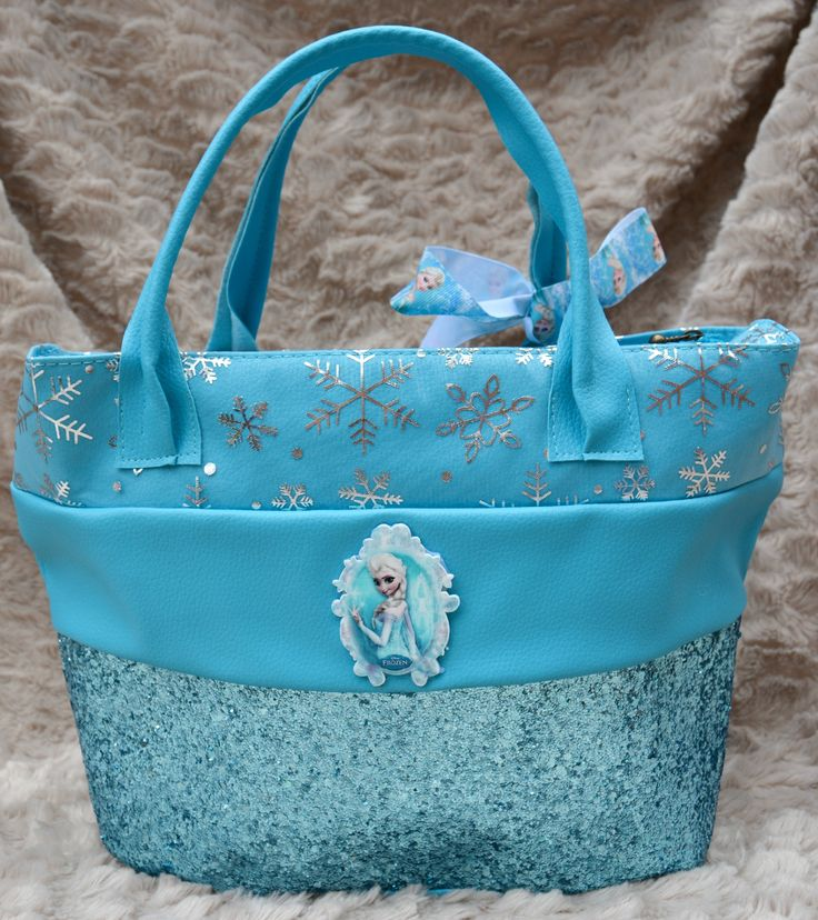 Frozen Elsa Inspired Girls Handbag  https://www.etsy.com/uk/shop/Thimbles1?ref=hdr_shop_menu