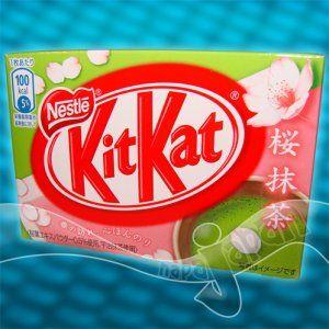 Sakura Green Tea Kit Kat