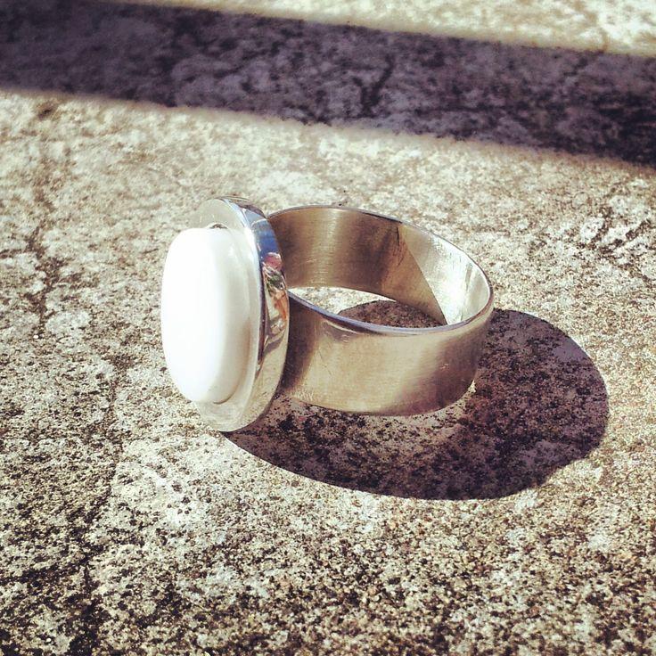 ring silver zirkoniumdioxid