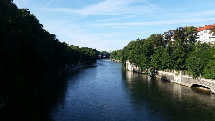 Isar River, Munich, Grrmany