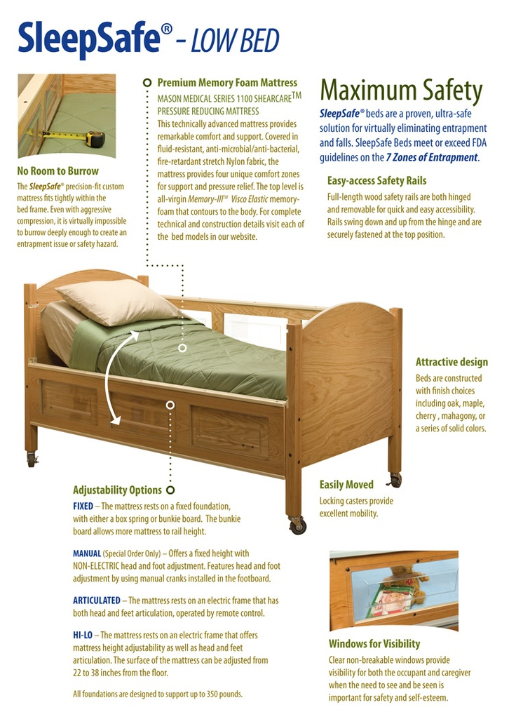 SleepSafe Beds - The Safety Bed for Special Needs Children
