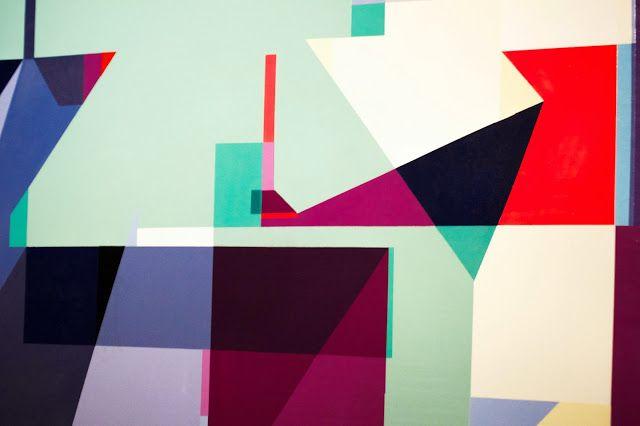 """HEXAHEDRON EXPONENTIËLE"" by Demsky333 & Felipe Pantone ~ Velvet Liga - Graffiti, galleries, design, street culture"