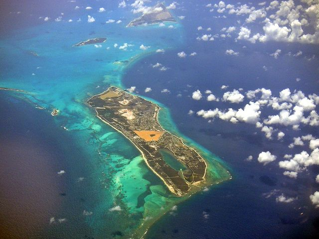 Sky Diving over Grand Turk Island