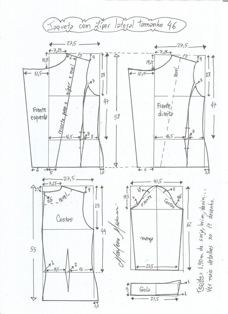Patrón para confeccionar una chaqueta clásica que nunca pasa de moda. Tallas desde la 36 hasta 56. Talla 36: Talla 38: Talla 40: Talla 42: Talla 44: Talla 46: Talla 48: Talla 50: Talla 52: Talla 54: Talla 56: Patrón chaqueta muy elegante con mangas de encajeDIY Chaqueta estilo chanelPatrón de poncho para el …