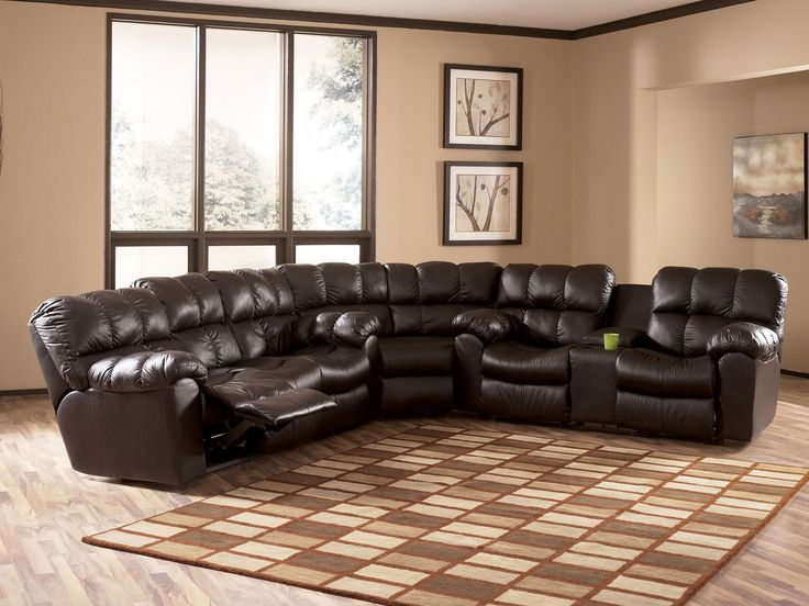 Best Bari Contemporary Genuine Leather Recliner Sofa Couch 400 x 300