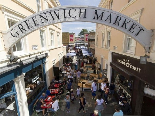 GREENWICH MARKET - handcrafts as well as foods -  London's only historic market set within a World Heritage Site. Crowded but choice