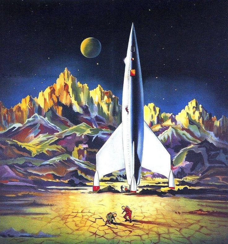 10 Cool Sci Fi Retro Artworks: 62 Best Images About DESTINATION MOON (1950) On Pinterest