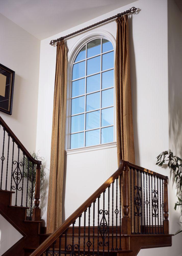 25 Best Ideas About Tall Window Treatments On Pinterest