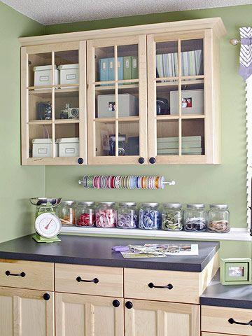 275 best Craft room ideas images on Pinterest   Home, Craft room ...