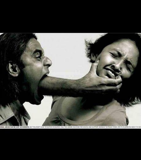 Une publicité qui dénonce les violences conjugales