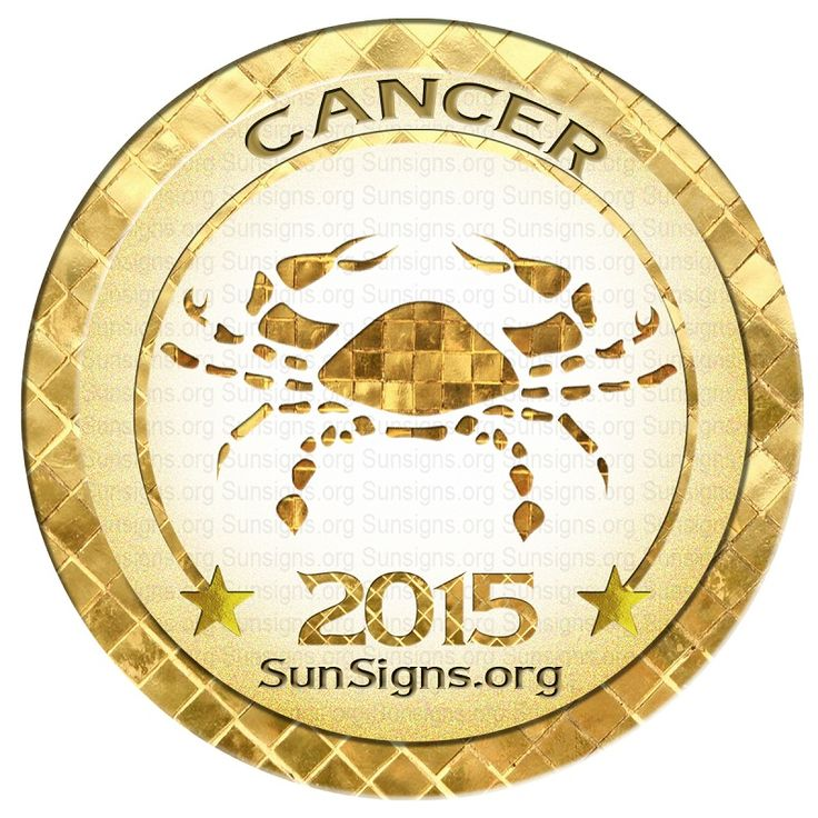 The 2015 Cancer horoscope predicts that this is a year for reaching for the top. This is a year where you feel like you can do anything.