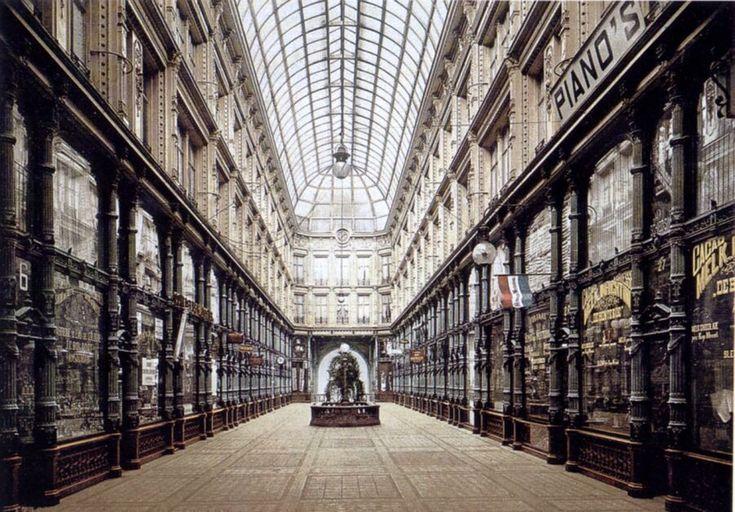 De Passage van Rotterdam (1879 - 1940) was een straat overdekt met glas
