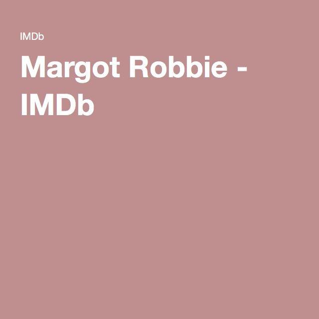 Margot Robbie - IMDb