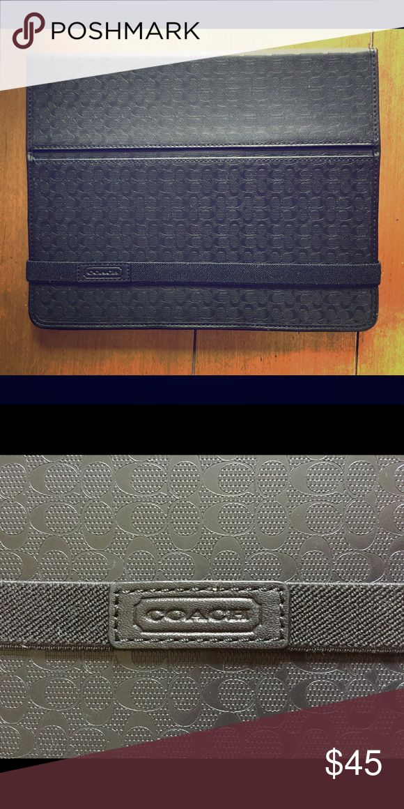 Coach iPad 2 Case / Cover Excellent condition. Like new. Coach Accessories Tablet Cases