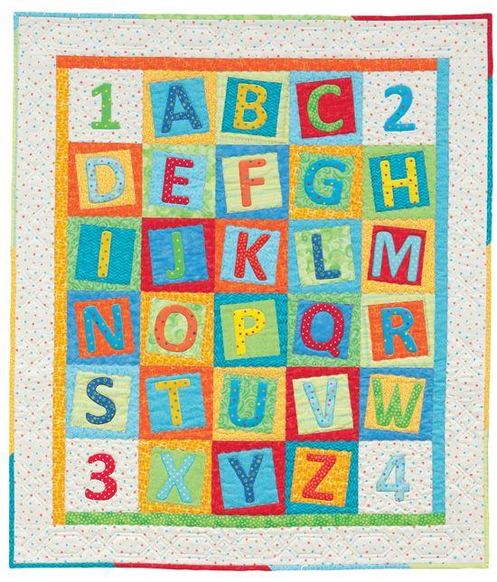 Alphabet Quilting Pattern : 25+ Best Ideas about Alphabet Quilt on Pinterest Patchwork patterns, Baby quilt patterns and ...