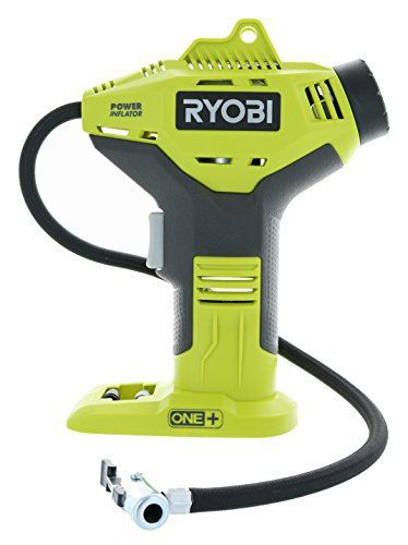 Ryobi P737 18V ONE+ Portable Cordless Power Inflator for Tires, Battery Not Included best air compressor for home shop,  best air compressor for automotive air tools,  quietest air compressor on the market,  best stationary air compressor for the money,  air compressor for auto repair shop,