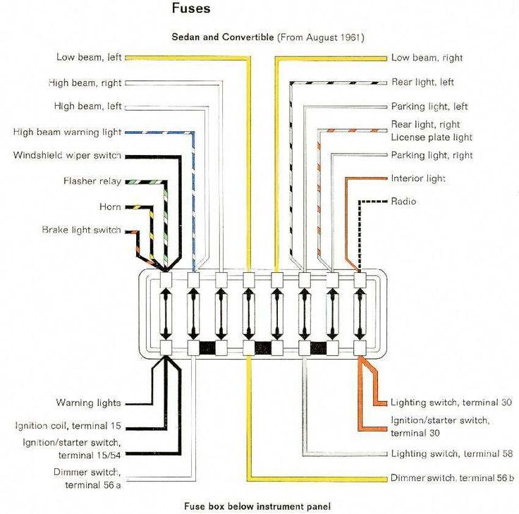 1963 Beetle Wiring Diagram: Volkswagen Wiring Diagrams